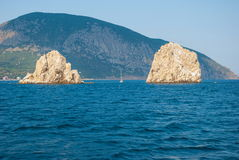 The Crimean landscape Royalty Free Stock Photo