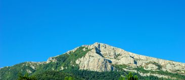 The Crimean mountain.  stock image