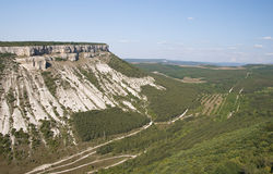 Crimean mountains Stock Photography
