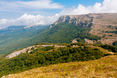 In crimean mountains Stock Images