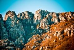 Crimean mountains Stock Photography