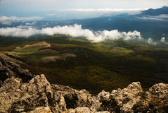 Crimean mountains Royalty Free Stock Images