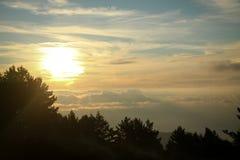 Crimean Mountains. Hiking in Ukrainian Crimean Mountains royalty free stock image