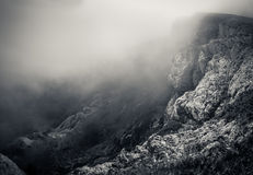 Crimean Mountains. Hiking in Ukrainian Crimean Mountains stock images