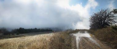Crimean Mountains. Hiking in Ukrainian Crimean Mountains Stock Image