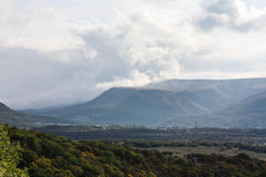 Crimean mountains Royalty Free Stock Photos