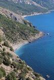 Crimean mountains near Balaklava, Sevastopol Stock Images