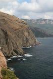 Crimean mountains near Balaklava, Sevastopol Stock Photography