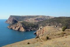 Crimean mountains near Balaklava, Sevastopol Stock Image