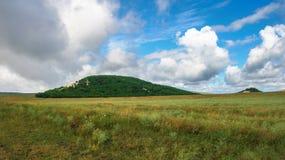 Crimean mountains, plateau. Summer 2011 Stock Images