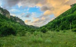 Crimean mountains, plateau. Summer 2011 Royalty Free Stock Photo