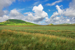 Crimean mountains, plateau Stock Photos