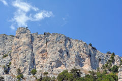 Crimean mountains Royalty Free Stock Image