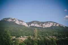 Crimean Mountains view Royalty Free Stock Photo