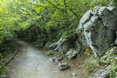 Crimean nature. Tsars path Stock Photos