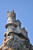 crimean panoramic landscape near yalta the well known castle swallow s nest in crimea ukraine Stock Image