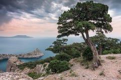 Crimean Peninsula,  Black Sea Coast Royalty Free Stock Photos