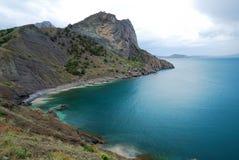 The Crimean seascape with cape Stock Photo