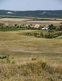 Crimean Summer  Steppe landscape Stock Photography