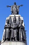Crimean War Memorial in London. The Crimean War Memorial in London Royalty Free Stock Image