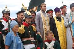 Crimean War reenactment Stock Images