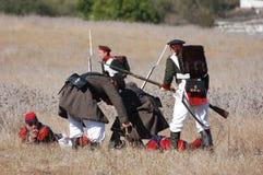 Crimean War reenactment Stock Photo