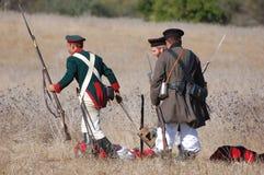 Crimean War reenactment Royalty Free Stock Photography