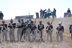 Crimean War reenactment Royalty Free Stock Images