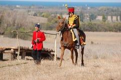 Crimean War reenactment Stock Photos