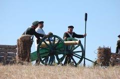 Crimean War reenactment Royalty Free Stock Photos
