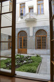 CRIMEIA - 14 DE MAIO DE 2012: Jarda árabe bonita no palácio de Livadia Imagens de Stock Royalty Free