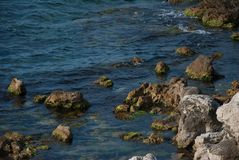 Crimeia, Sevastopol, o Mar Negro Fotografia de Stock Royalty Free