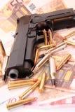 Crimen 20 del arma Foto de archivo