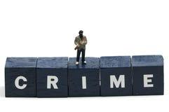 Crimen Foto de archivo libre de regalías