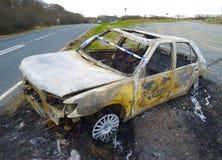 Crimen del coche Fotos de archivo libres de regalías