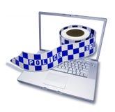 Crimen del Cyber Imágenes de archivo libres de regalías
