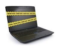 Crimen del Cyber Fotografía de archivo