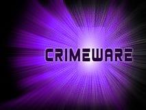 Crimeware Digital Cyber Hack Exploit 3d Illustration stock illustration