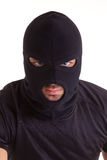 Criminal with balaclava Stock Photo