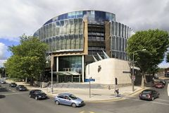Criminal Court House on Parkgate Street Royalty Free Stock Photo