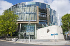 Criminal Courts of Justice Stock Photo