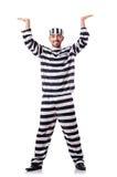 Criminal de convicto Foto de archivo libre de regalías