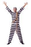Criminal de convicto Imagen de archivo libre de regalías