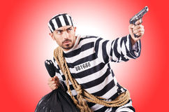 Criminal de convicto Fotografía de archivo