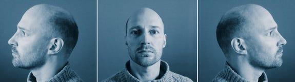 Criminal de la identidad del Mugshot Imagen de archivo