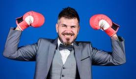 Criminal defense lawyer planning out strategies. Businessman wear boxing gloves. Best criminal defense lawyer strategies. Attack and defense concept stock images