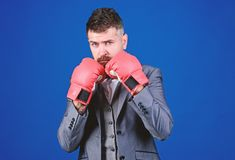 Criminal defense lawyer planning out strategies. Businessman wear boxing gloves. Best criminal defense lawyer strategies. Tactics proven to work. Attack and stock images