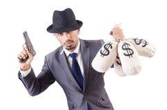 Criminal del hombre de negocios Fotos de archivo