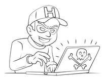Criminal en línea libre illustration