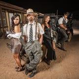 Criminal Gangster Group Royalty Free Stock Photos